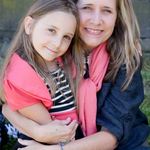 Mother and daughter taken at Olompali State park Novato