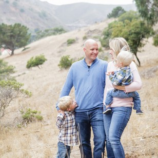Larkspur family photography