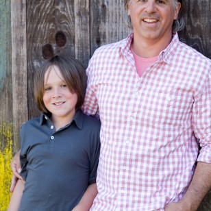 Mill Valley family photography taken at Olompali State Park in Novato
