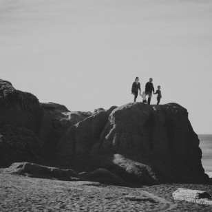 Rodeo Beach family photography session