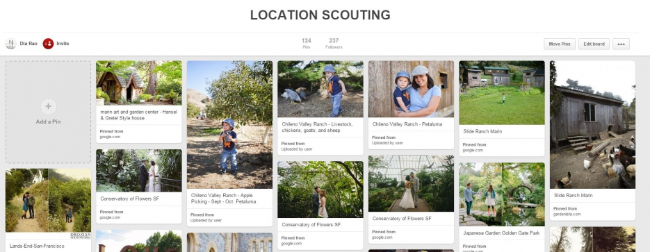 Family Portrait Locations In Marin | San Francisco Family Photography Location Scouting